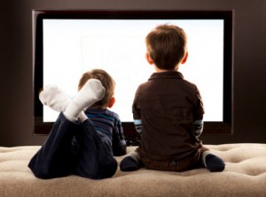 children watching TV 300x223 NeuroBranding and Children: An fMRI Study of Neural Responses to Logos